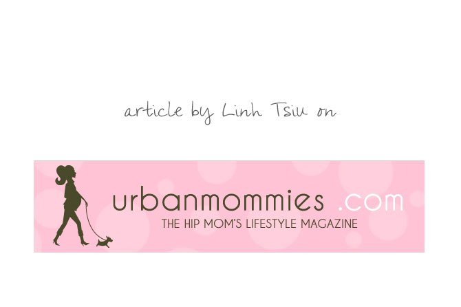 Urban Mommies -article by Linh Tsiu